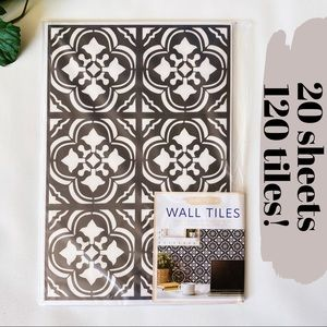 Target Black & White Tiles Peel & Stick Wall Decor